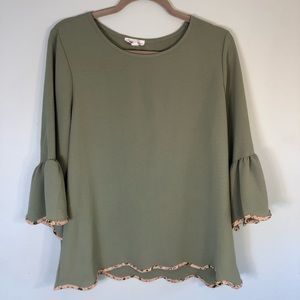 HAILEY & CO. Boho Top Sz. L, excellent condition